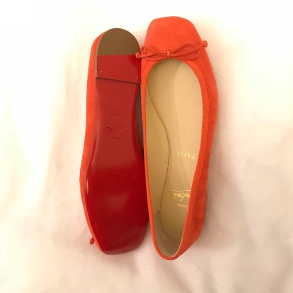 e933a3443da Christian Louboutin Shoes - Christian Louboutin ballerina flats size 39